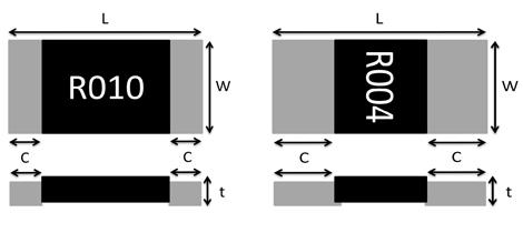 合金电阻结构图